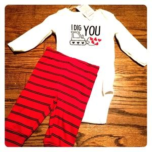 Boys Valentine's Day outfit
